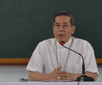 Linh mục đoàn giáo phận tĩnh tâm năm 2016